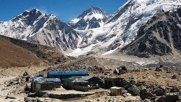 Gorak Shep near Everest Base Camp
