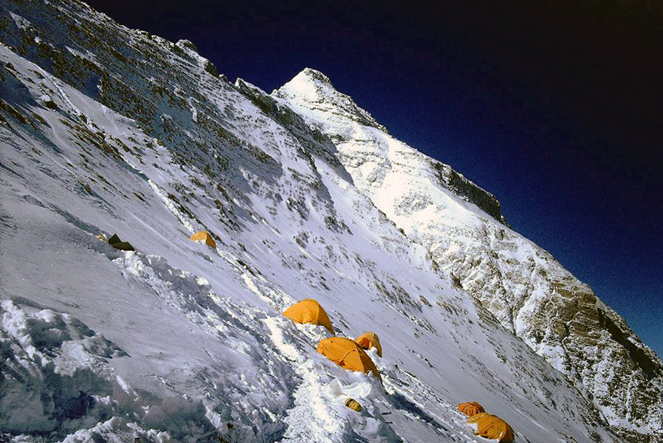 Everest Camp on 8300 m