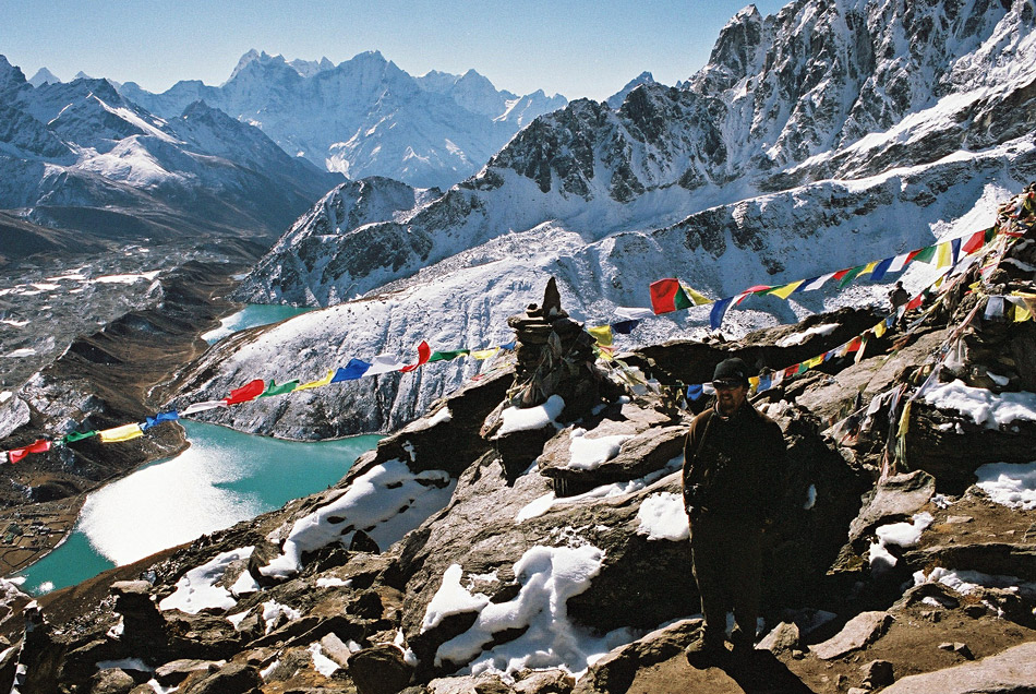 View to Gokyo Lakes from Gokyo Ri