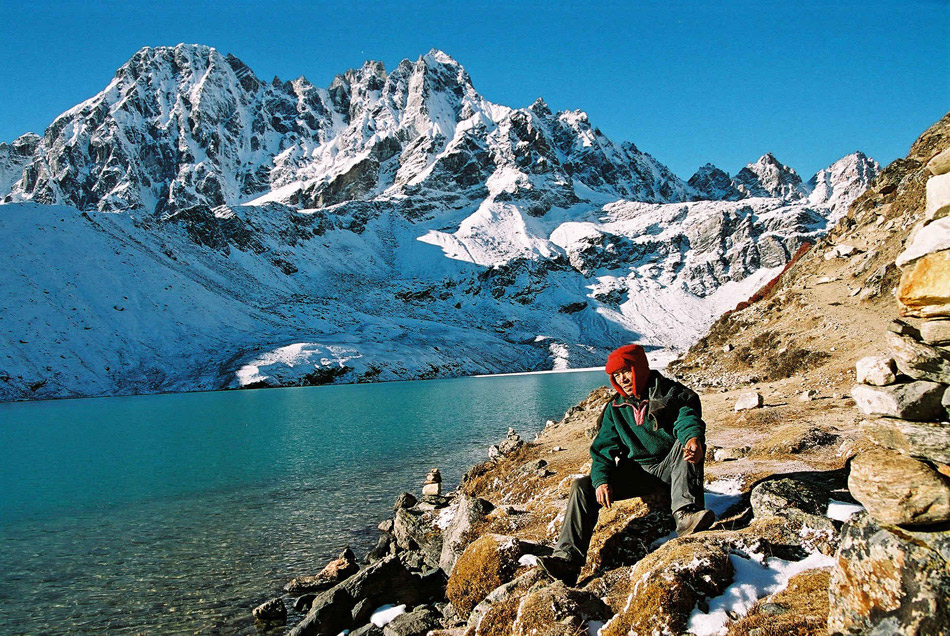 Gokyo Ri at 3d Lake