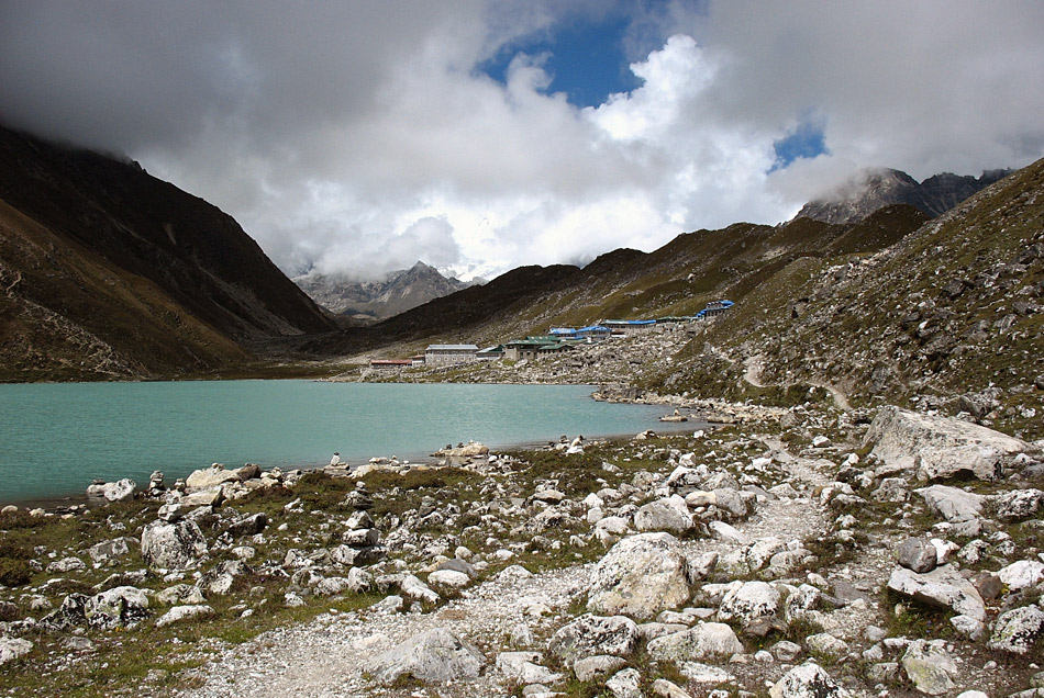 Gokyo village at 3d Lake