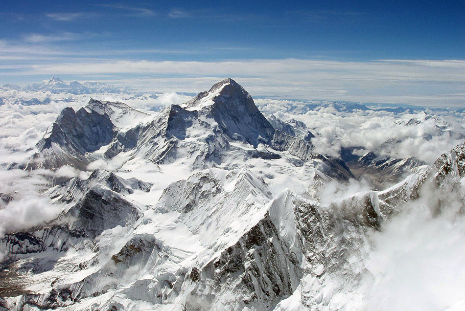 Himalayas Pictures-Makalu from Everest