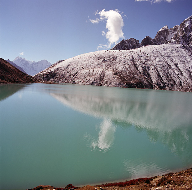 View to Gokyo 3d Lake from Gokyo Ri