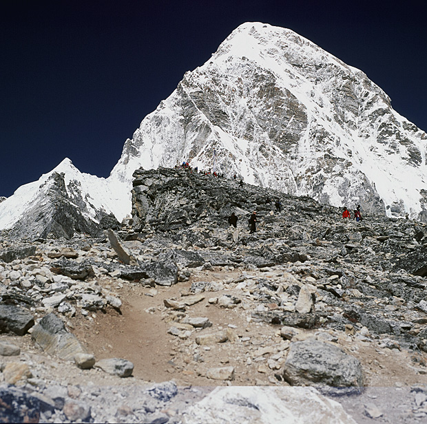 Summit of Kala Patthar